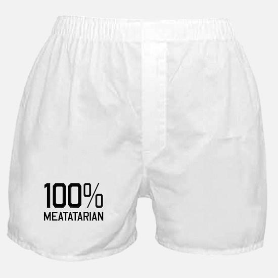100% Meatatarian Boxer Shorts