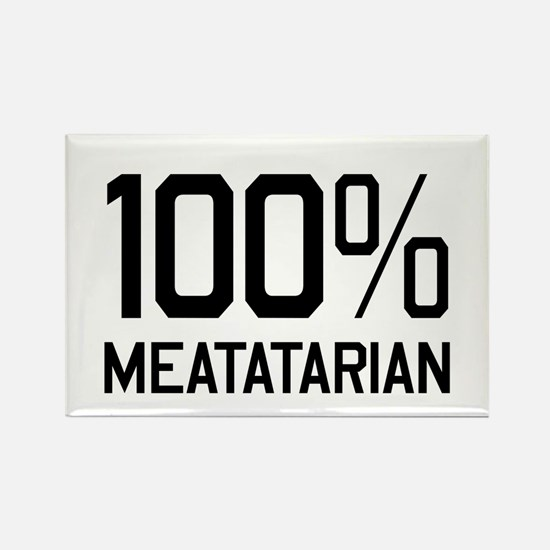 100% Meatatarian Magnets