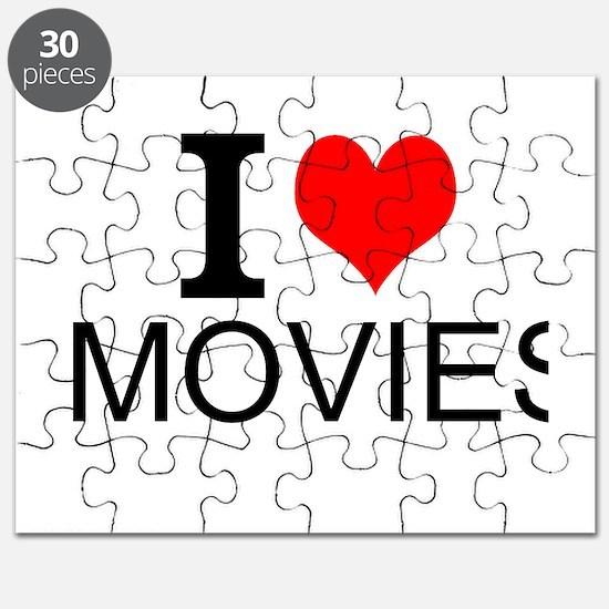 I Love Movies Puzzle