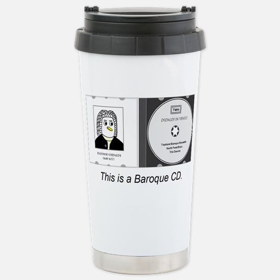 Baroque CD Travel Mug