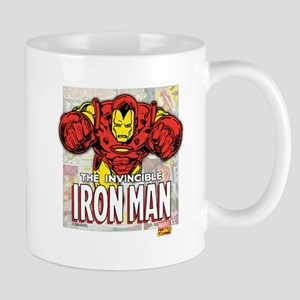 Iron Man Panels Mug