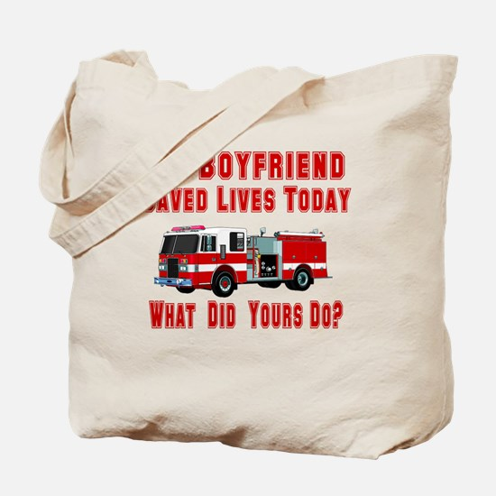 What Did Your Do? Boyfriend Tote Bag