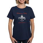 Lpl Fleur De Lis Women's Dark T-Shirt