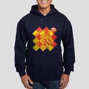 Iron Man Checkered Hoodie (dark)