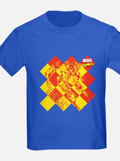 Iron Man Checkered T