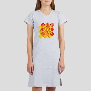 Iron Man Checkered Women's Nightshirt