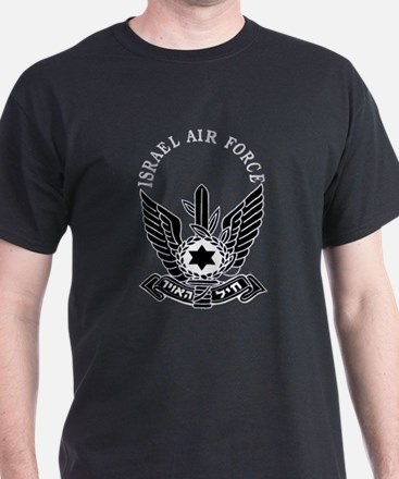 IAF Black Logo T-Shirt