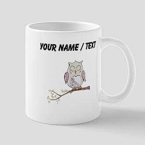 Custom Sleeping Owl Mugs