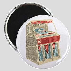 Grunge Retro Jukebox Magnets