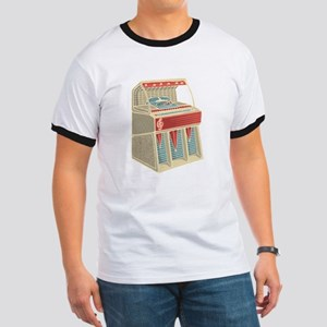 Grunge Retro Jukebox T-Shirt
