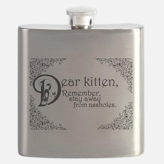 Dear Kitten Flask