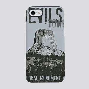 Devils Tower Stamp iPhone 7 Tough Case