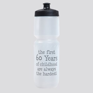 First 60 Years Childhood Sports Bottle