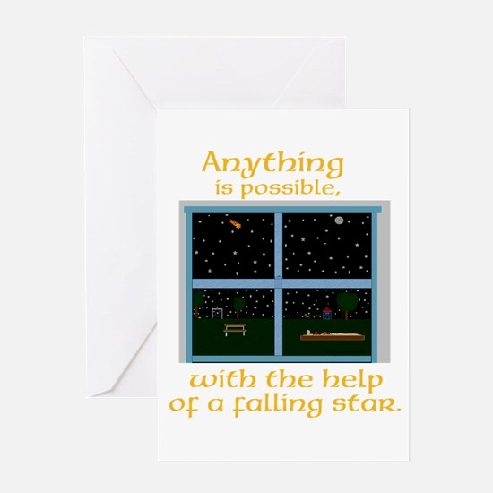 Anything is possible Greeting Cards