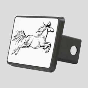 Leaping Art Horse Hitch Cover