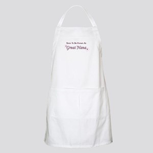 Soon To Be Great Nana BBQ Apron