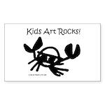 Crab Rectangle Sticker