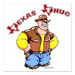 Texas Thug Square Car Magnet 3