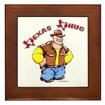 Texas Thug Framed Tile