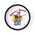 Texas Thug Wall Clock
