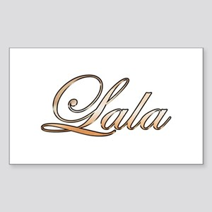 Gold Lala Sticker