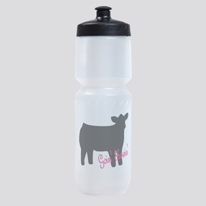 Show Heifer Sports Bottle