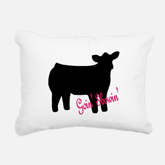 Show Heifer Rectangular Canvas Pillow