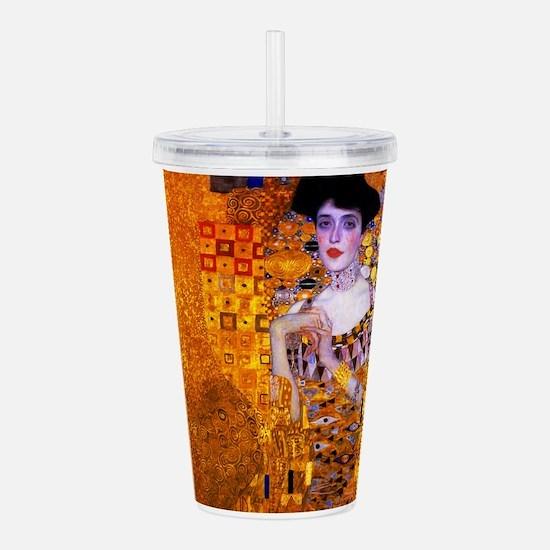 Klimt: Adele Bloch-Bauer I. Acrylic Double-wall Tu