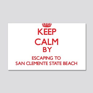 Keep calm by escaping to San Clemente State Beach