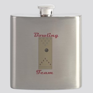 Bowling Team Flask
