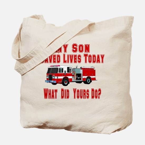Son-What Did Yours Do? Tote Bag