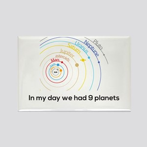9 planets Magnets