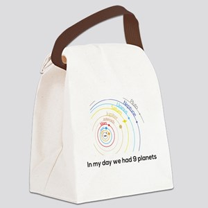 9 planets Canvas Lunch Bag
