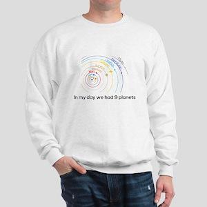 9 planets Sweatshirt
