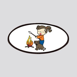 Campfire Girl Patches