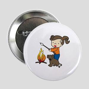 """Campfire Girl 2.25"""" Button"""