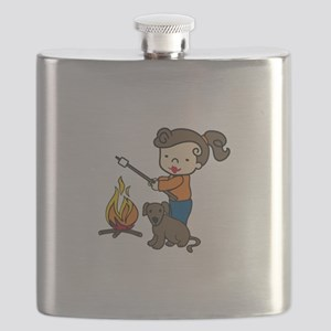 Campfire Girl Flask