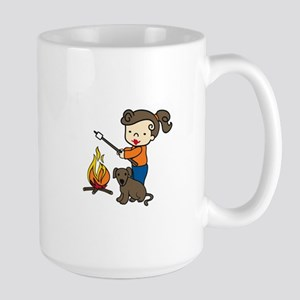 Campfire Girl Mugs
