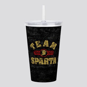 300 Team Sparta Acrylic Double-wall Tumbler