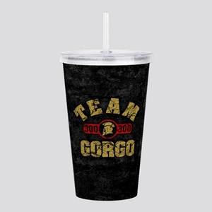 300 Team Gorgo Acrylic Double-wall Tumbler