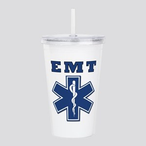 EMT Blue Star Of Life* Acrylic Double-wall Tumbler
