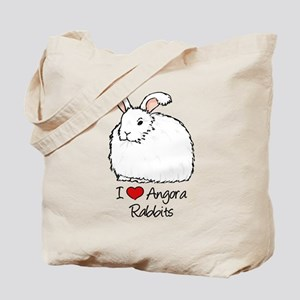 I Heart Angora Rabbits Tote Bag
