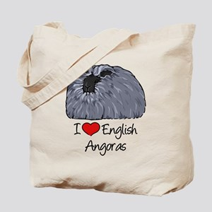 I Heart English Angoras Tote Bag