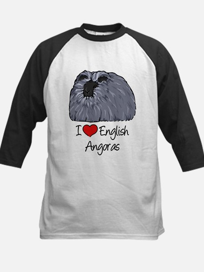 I Heart English Angoras Baseball Jersey