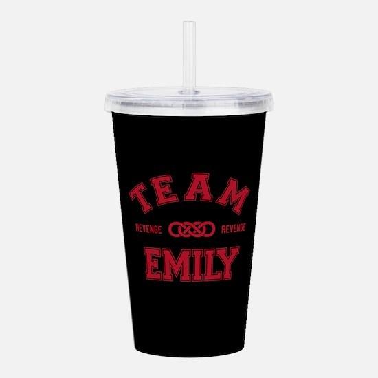 Revenge Team Emily Acrylic Double-wall Tumbler