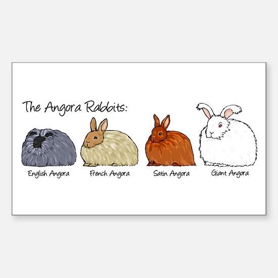 The Angora Rabbits Decal