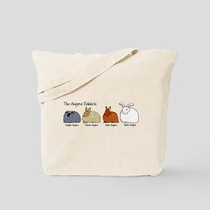 The Angora Rabbits Tote Bag