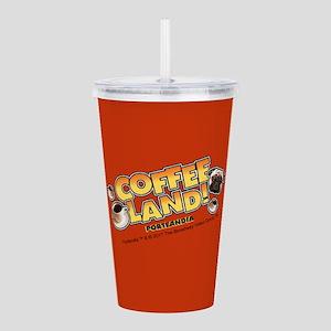 Portlandia Coffee Land Acrylic Double-wall Tumbler