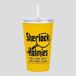 Sherlock Holmies Portlandia Acrylic Double-wall Tu