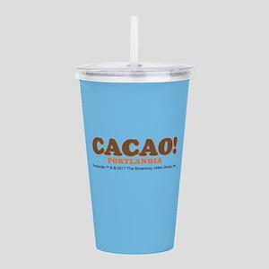 Cacao Portlandia Acrylic Double-wall Tumbler